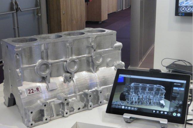 Sur le salon Smart Industries 2016, Capgemini et SAP ont présenté 3 démonstrateurs métiers pour l'Industrie connectée, ci-dessus, l'utilisation de la réalité augmentée. (agrandir/crédit : Capgemini)