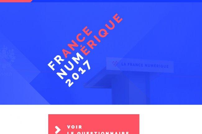 En ouvrant une plate-forme commune,  le collectif France Numérique 2017 veut positionner le numérique au coeur des programmes présidentiels. Crédit: D.R.