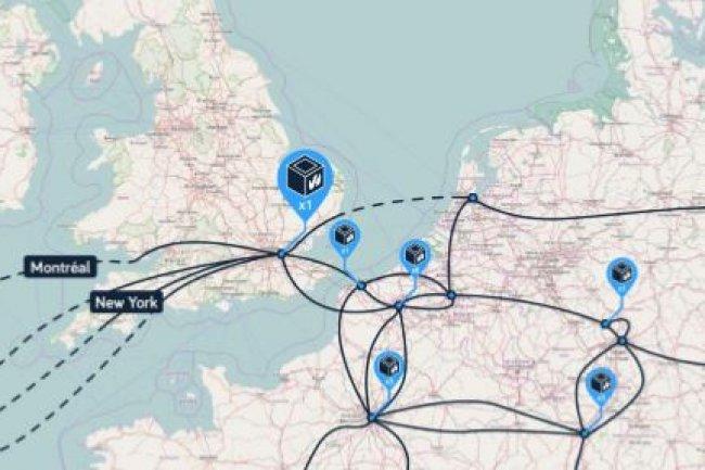 Sur son site britannique, l'hébergeur prévoit d'installer 40 000 serveurs sur 4 000 m2. (crédit : D.R.)