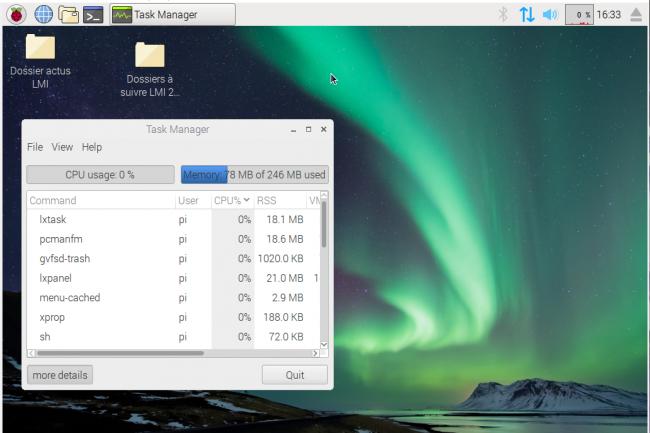 Raspbian Pixel s'installe très facilement sur un clef USB pour démarrer une machine virtuelle. (crédit : D.R.)