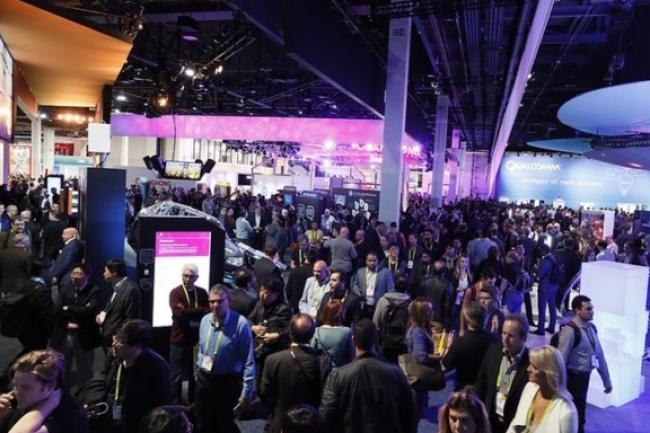 Plus de 170 000 visiteurs ont foulé le salon du CES 2017 à Las Vegas du 5 au 8 janvier. (crédit : D.R.)