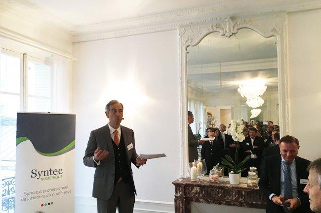 Dans ses voeux aux acteurs français de l'IT, Godefroy de Bentzman, le président de Syntec Numérique, a rappelé les propositions que le syndicat professionnel poussera auprès du futur gouvernement.