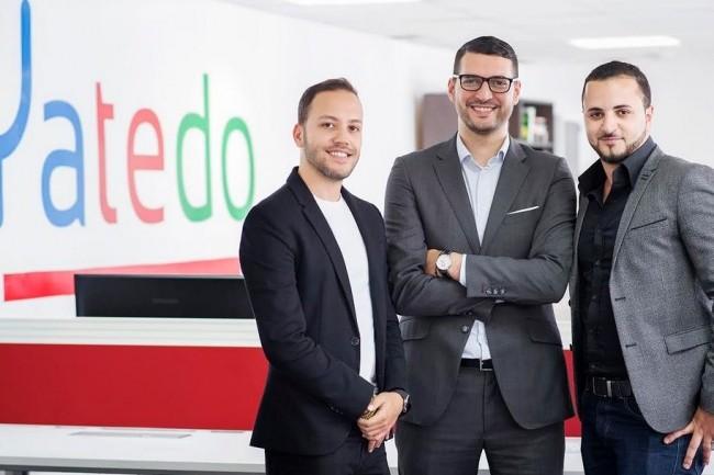 Les fonds levées par la start-up Yatedo cofondée par Amyne Berrada (à droite) vont contribuer à accélérer son développement dans le domaine du recrutement prédictif. Crédit: D.R.