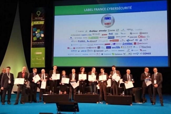 12 fournisseurs de sécurité français ont reçu des labels France Cybersécurité lors du FIC 2017. (crédit : D.R.)