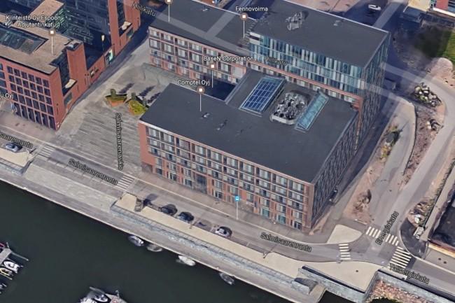 Le siège social de Comptel à Helsinki en Finlande. (crédit : D.R.)