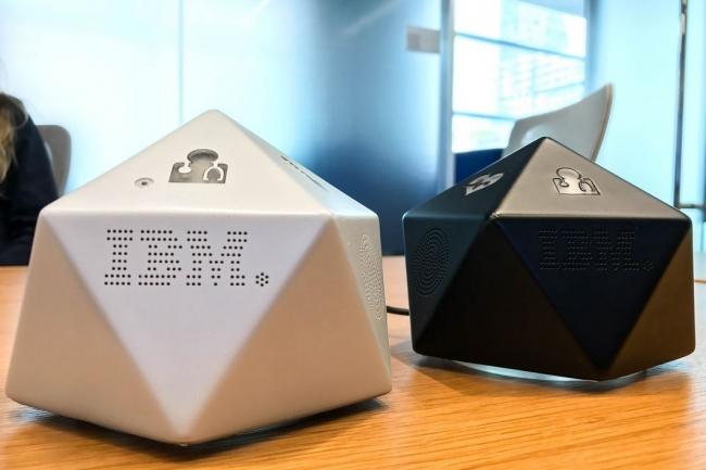 Deux prototypes de hub Chiyo présentés par IBM Research lors d'une démonstration à San Francisco le 14 février 2017. (Crédit : Magdalena Petrova/IDGNS)