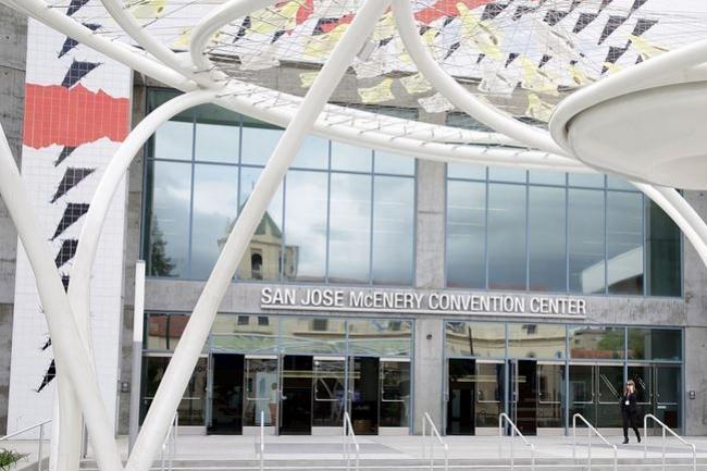 C'est le McEnery Convention Center de San Jose qui accueillera l'édition 2017 de la conférence développeurs WWDC d'Apple. (crédit : D.R.)