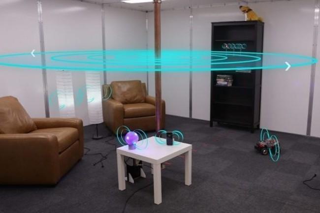 Disney Research expérimente la charge sans fil à distance