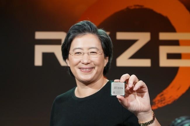 AMD dévoile les performances flatteuses de ses Ryzen 7