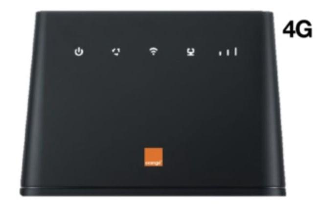 Lancée en mai prochain, l'offre 4G Home d'Orange permettra de connecter en 4G les exclus du haut débit via un routeur WiFi. (crédit: D.R.)
