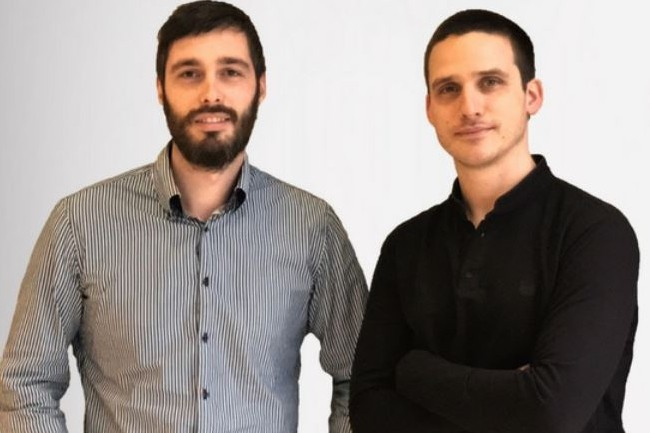 Créée par Martin Dimet (à droite) et par David Branellec (à gauche), Deepfish cible des offres qui correspondent aux attentes des commerciaux du secteur IT. Crédit: D..R