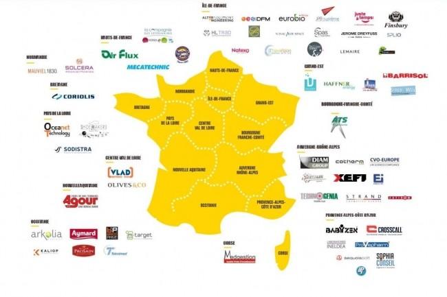 De la Normandie, à la Provence-Alpes-Côtes d'Azur et de l'Occitanie au Grand Est, Bpifrance accélère 60 PME dont une quinzaine entreprises engagées dans le numérique.