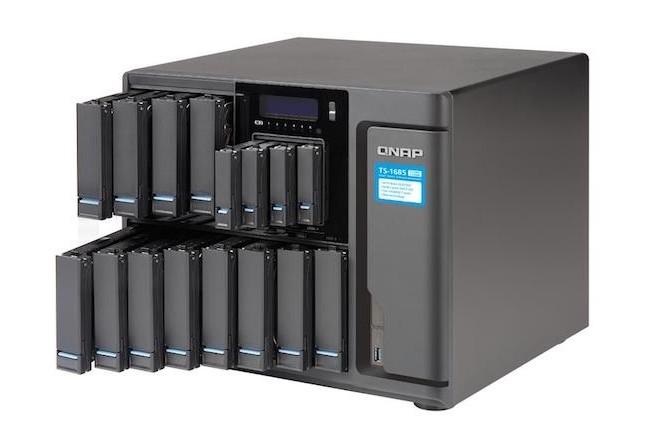 Le NAS TS-1685 de Qnap embarque un processeur Xeon et jusqu'à 128 Go de RAM pour du stockage à haute performance pour PME.