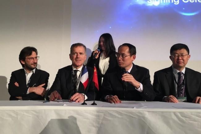 Aujourd'hui, les représentant du Laval Virtual, de la région Normandie et du district de Laoshan, en Chine, ont officialisé la création d'un Laval Virtual Asia.