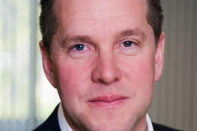 Stephan Sieber, CEO de l'éditeur néerlandais Unit4, a repris la direction de la société en avril 2016 à la suite de José Duarte. (crédit : D.R.)