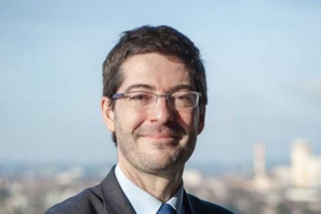 Nicolas Thery, président du Crédit Mutuel, espère accroître la qualité de la relation client grâce à l'intelligence artificielle. (Crédit D.R.)