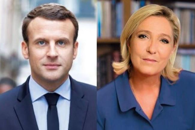 Les questions numériques sont abordées sous plusieurs aspects dans les programmes respectifs d'Emmanuel Macron et de Marine Le Pen. (crédit : D.R.)