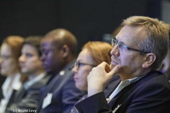 «Maîtriser le service aux utilisateurs» était le titre de la conférence organisée par CIO le 17 mai 2017 au Palais Brongniart à Paris. (crédit : Bruno Levy)