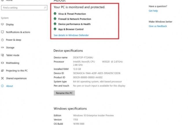 Le système de notifications fait partie des améliorations apportées par la dernière Build 16199 de Windows 10 Creators. (crédit : Microsoft)