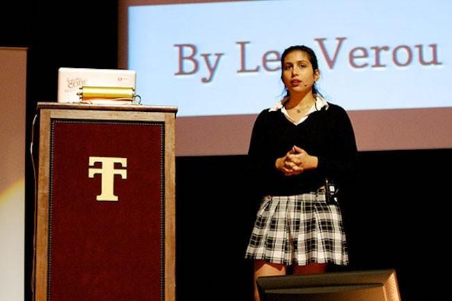 Conçu au MIT par une équipe emmenée par Lea Verou, le langage Mavo repose sur le HTML. (Crédit Lea Verou)