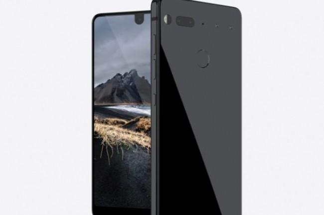 Le smartphone PH-1 créé par Andy Rubin, créateur d'Android. (crédit : Essential)