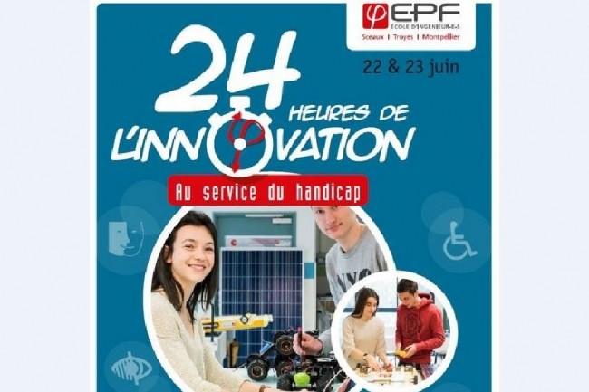 Les élèves-ingénieurs des 3 campus de l'EPF en second cycle auront 24H chrono pour développer une solution innovante en lien avec le handicap. Crédit. D.R.