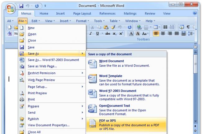 Microsoft mettra fin au support d'Office2007 en octobre