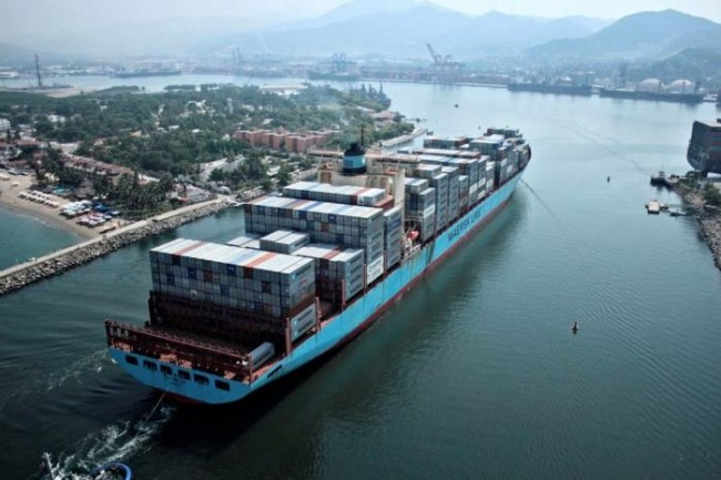 La solution blockchain d'IBM et de Maersk permet au transporteur de numériser la totalité de sa chaîne d'approvisionnement et de gérer et de suivre l'acheminement de dizaines de millions de conteneurs à travers le monde. (Crédit: Maersk)