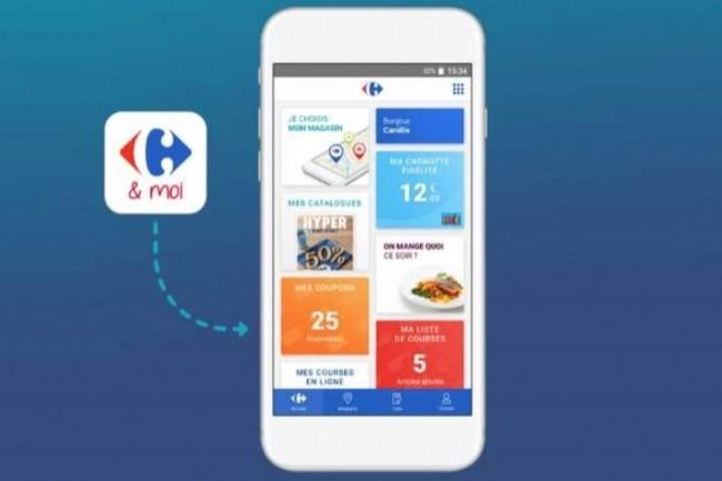 L'application « Carrefour & Moi » est utilisée par des centaines de milliers de visiteurs uniques par jour.