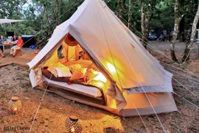 Les campings Les Castels ont cherché à comprendre les rapports à Internet pour les vacanciers. (Crédit : D.R.)