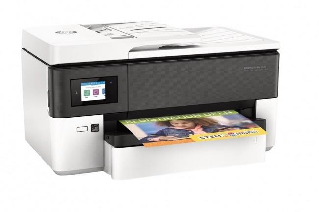 Le modèle OfficeJet Pro 7720 de HP Inc, un MPF au format A3, est disponible dès maintenant à partir de 199 €. (Crédit photo : HP)