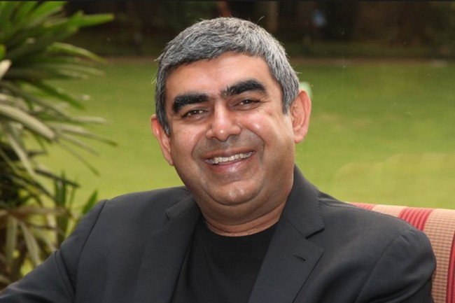 Vishal Sikka aura occupé pendant un peu plus de trois ans le poste de CEO d'Infosys. (crédit : D.R.)