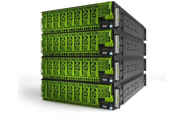 Pour les traitements en mémoire d'analyse des big data, les serveurs Bullions d'Atos apportent des capacités allant jusqu'à 24 To. (crédit : Atos)
