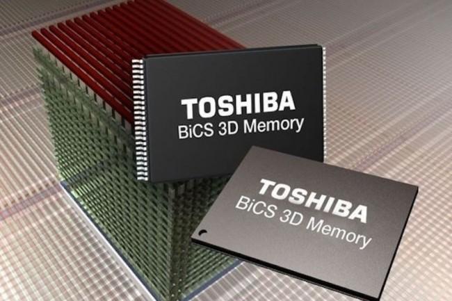 Western Digital et ses associés pourraient racheter l'activité mémoire de Toshiba pour 18 Md$. Crédit photo : D.R.