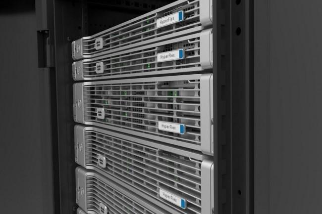 HyperFlex HX Data, la solution d'hyperconvergence de Cisco repose sur le logiciel de SpringPath (architecture Halo) pour former un système de stockage distribué utilisant des SSD et des disques durs dans des clusters de serveurs. Crédit. D.R.