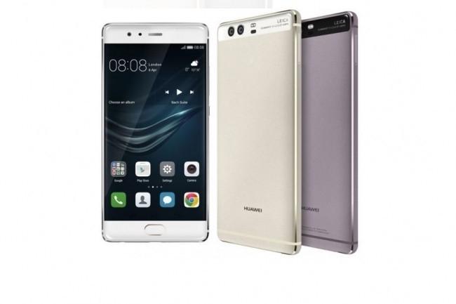 Les derniers smartphones de Huawei, comme le P10, ont trouvé leur place sur le marché. (Crédit Huawei).