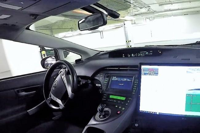 La technologie d'automatisation de conduite d'AImotive a déjà été testée fin 2016 dans une Toyota Prius autonome bardée de capteurs. (Crédit photo : AImotive)