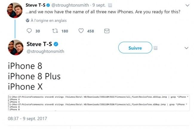 En lançant l'iPhone X, Apple espère marquer un grand coup pour dynamiser sa croissance face à Samsung et à un Huawei qui monte en puissance. (crédit : D.R.)