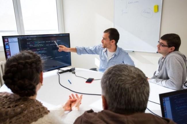 L'école de code Wild Code School a été co-fondée par Anna Stepanoff pour faire face à la tension sur les métiers du développement informatique. Crédit. D.R.