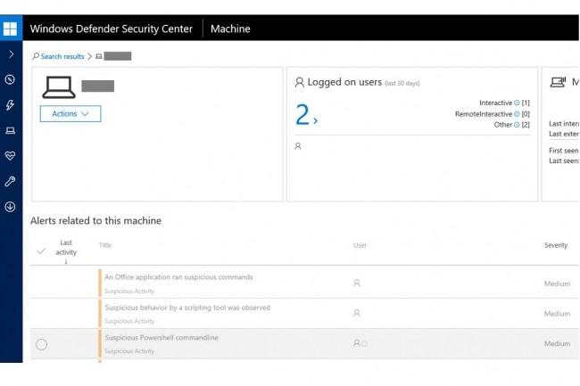 Les utilisateurs de Windows Defender ATP sont alertés et protégés contre la faille zero-day que Microsoft corrige dans son Patch Tuesday de septembre 2017