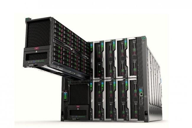 Avec ses serveurs Synergy, HPE est passé aux systèmes convergés 2.0. (Crédit D.R.)