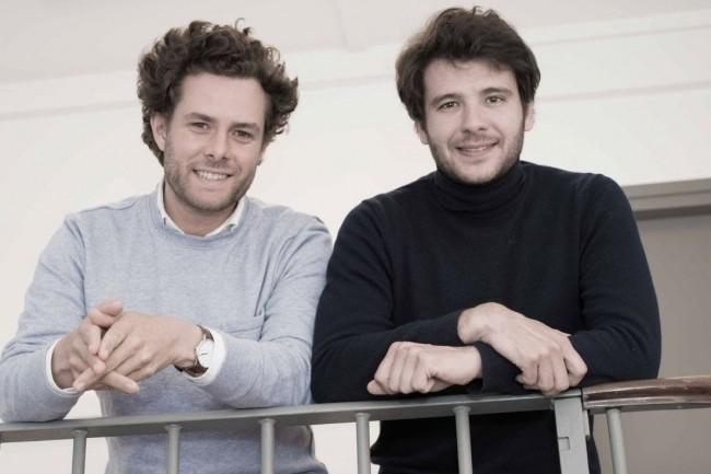 Les cofondateurs de Tanker, Guillaume Pontallier (à gauche) et Clément Ravouna proposent une solution de chiffrement pour les logiciels SaaS. Crédit. D.R