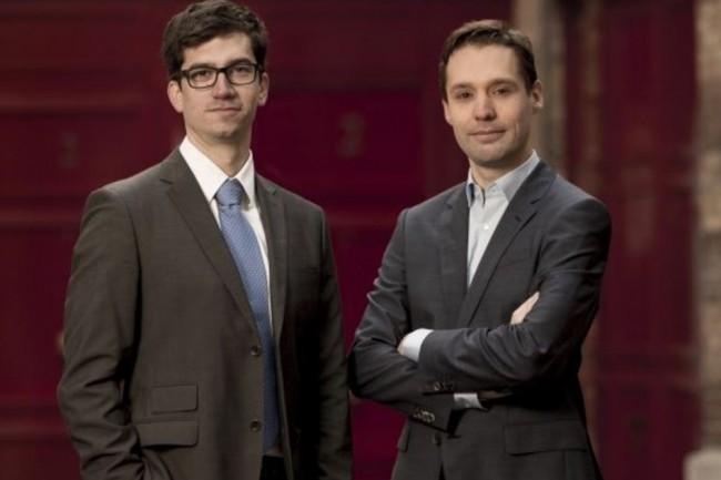 Emmanuel Gras et Luc Delsalle, respectivement PDG et directeur technique d'Alsid, en sont également les co-fondateurs. (crédit : D.R.)