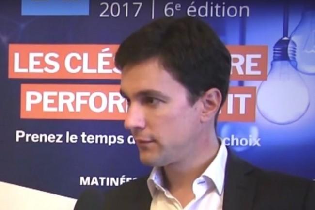 Mathias Robichon est directeur technique de NetApp France. (crédit : LMI)