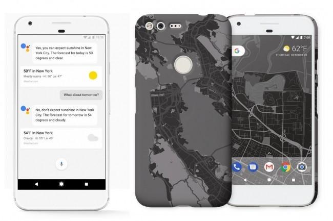 Le Pixel, conçu par Google avec les équipes de HTC, est le 1er smartphone à intégrer Assistant. (crédit : D.R.)