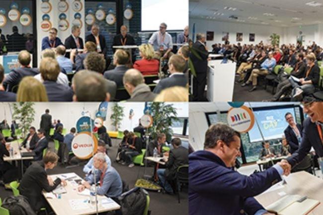L'an dernier, le Biz Connection Day a regroupé plus d'une dizaine de grands groupes et 65 start-ups et PME IT d'Ille-et-Vilaine. Crédit. D.R.