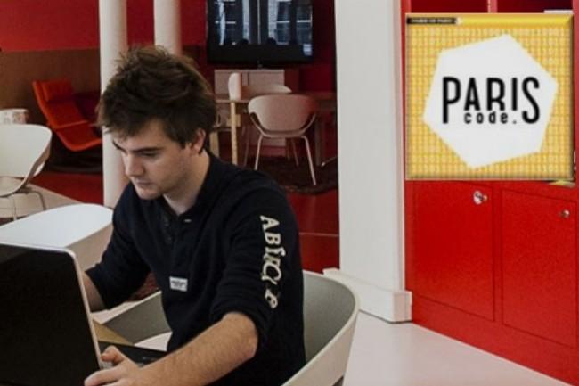 La Ville de Paris s'engage avec ParisCode à soutenir la formation et l'accès à l'emploi de 1 000 développeurs par an d'ici 2020. Crédit. D.R.