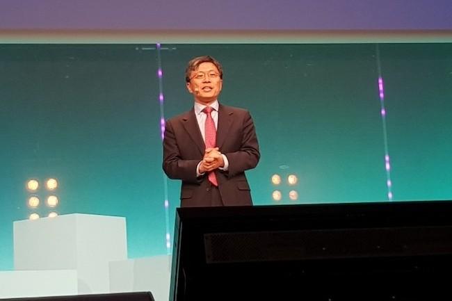 Harry Shum, patron de la recherche chez Microsoft, était la guest star de la seconde journée d'Experiences. (Crédit S.L.)