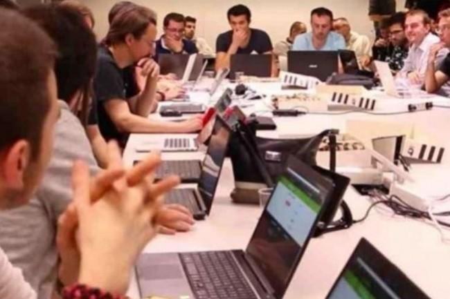 La JobTech Party met en contact des développeurs chevronnés avec des start-ups en quête de compétences. (crédit. D.R.)