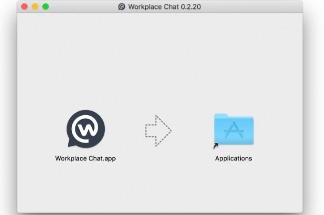 Facebook a publié une application Workplace Chat autonome pour les Mac et les PC en complément de son réseau social d'entreprise Workplace. (crédit : D.R.)